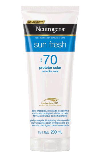 Neutrogena Sun Fresh Protetor Solar FPS 70