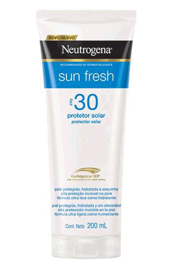 Neutrogena Sun Fresh  Protetor Solar FPS 30