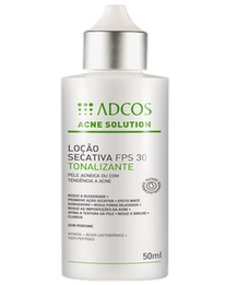 Acne Solution loção secativa tonalizante fps 30 60ml
