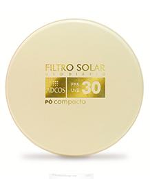 Pó Compacto Tonalizante Com Filtro Solar Fps 30 Adcos 11 G
